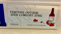 All aboard: the advertising campaign includes marketing in London Tube stations
