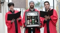 Beatboxing carol singers will deliver Diageo brands as part of the Deliveroo home delivery tie-up