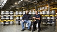 New line launch: Bath Ales' senior brewer Darren James and general manager Tim McCord
