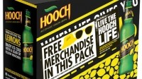 Live the Hooch life: half of the company's yearly marketing budget has been invested in the campaign