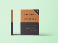 Crafted range: the handbook contains 65 beers and ciders
