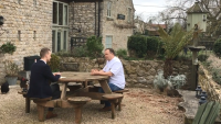 We're a local pub: Pern talks up the virtues of local produce