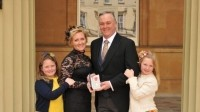 Influential figure: Keith Bott receives MBE