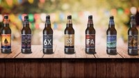 New look: Wadworth has revealed the new bottle designs