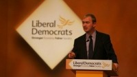 Rates commitment: The Liberal Democrat manifesto contains a pledge for a business rates review