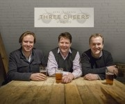 Bold plans: Tom Peake, Mark Reynolds and Nick Fox (l-r) have a substantial refit planned for the Bedford