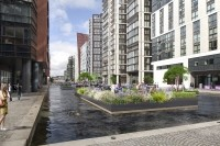 Pop-up launch: the site will be floating on the Paddington Basin